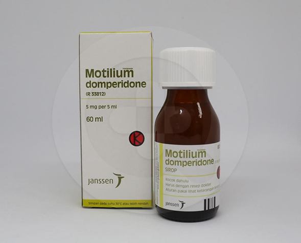 Motilium adalah obat yang dapat mengatasi nyeri perut, mual dan muntah