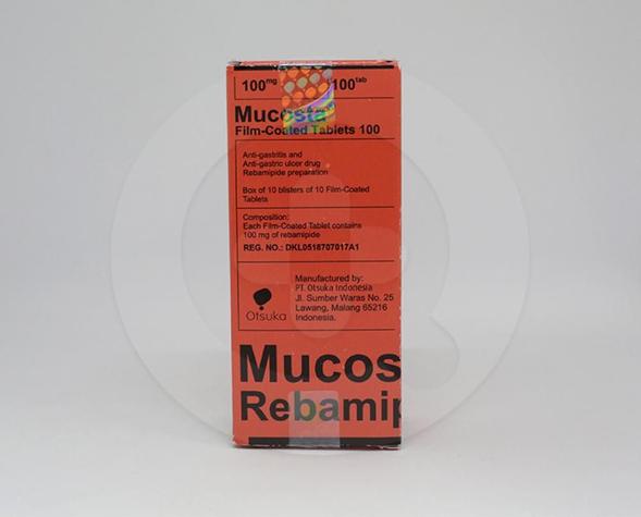 Mucosta adalah obat yang dapat mengobati radang usus dan radang lambunng