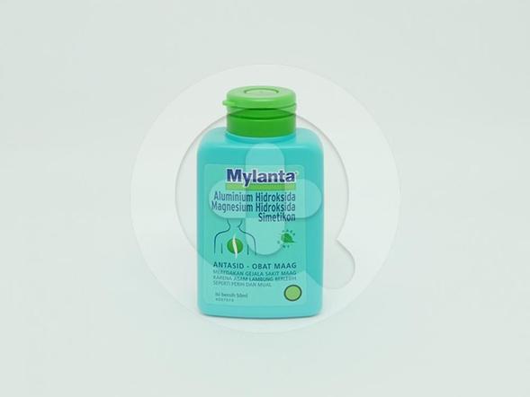 Mylanta Larutan 50 ml merupakan antasid obat maag.