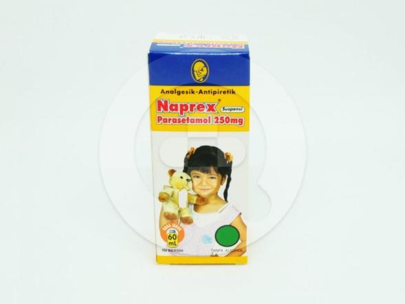Naprex suspensi adalah obat yang digunakan untuk menurunkan demam dan meringankan rasa sakit.