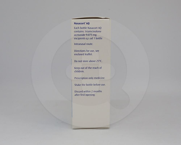 Nasacort AQ adalah obat semprot yang digunakan untuk mengobati rhinitis
