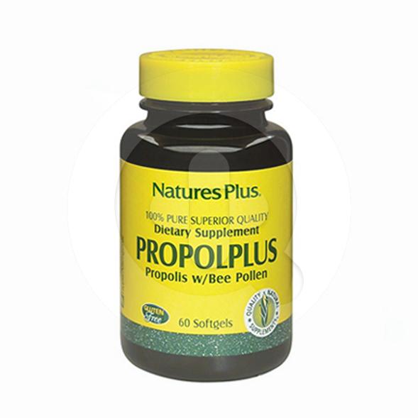 Nature's Plus Propolplus kapsul adalah suplemen untuk membantu memelihara kesehatan tubuh