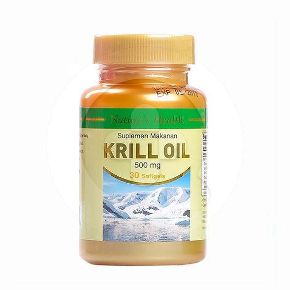 Nature's Health Krill Oil kapsul adalah suplemen untuk membantu memelihara kesehatan