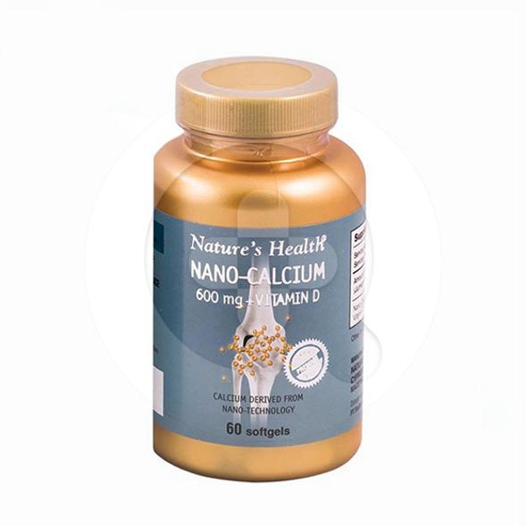 Nature's Health Nano Calcium kapsul adalah suplemen untuk memelihara kesehatan tulang