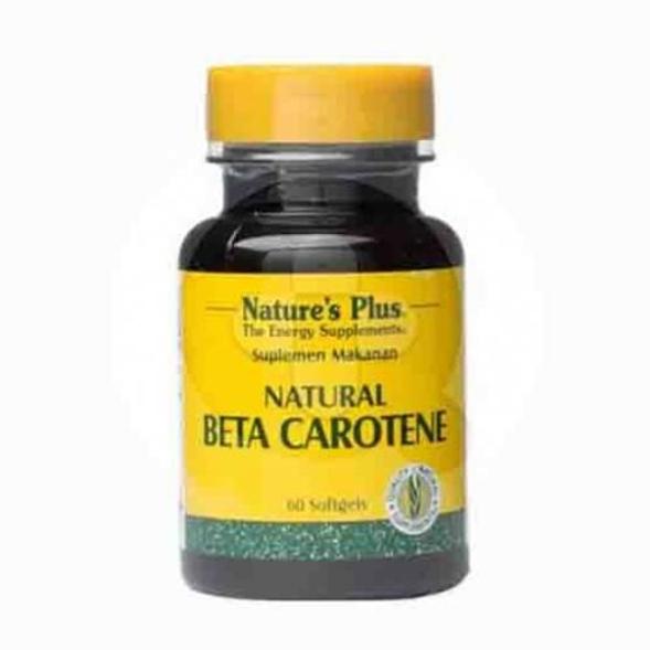 Nature's Plus Beta Carotene kapsul adalah suplemen untuk membantu memelihara kesehatan mata