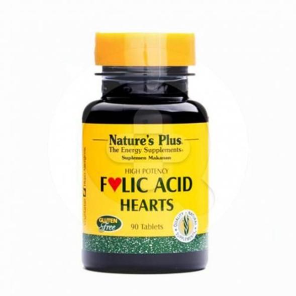 Nature's Plus Folic Acid tablet adalah suplemen untuk memenuhi kebutuhan asam folat