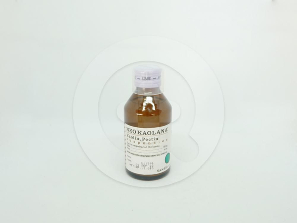 Neo kaolana suspensi 120 ml untuk penngobatan diare non spesifik.