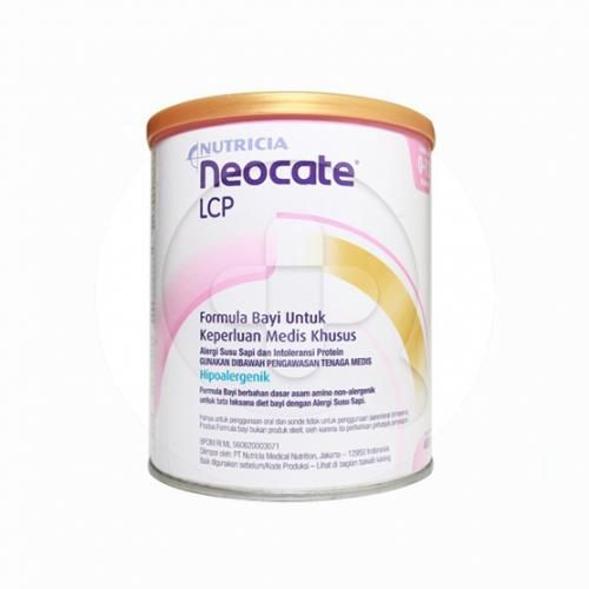 Neocate LCP merupakan susu formula untuk bayi usia 0-12 bulan.