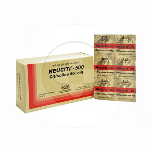 Neuciti tablet adalah obat yang digunakan untuk penyakit stroke dan gangguan fungsi kognitif.