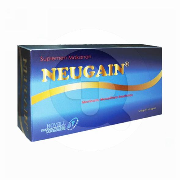 Neugain kapsul adalah suplemen untuk menjaga kesehatan dengan meningkatkan fungsi kognitif.