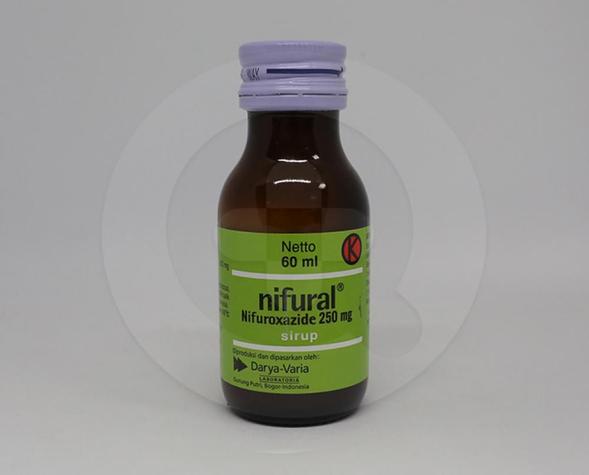Nifural digunakan untuk mengobati diare