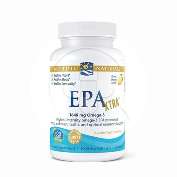 Nordic EPA Xtra kapsul adalah suplemen untuk memelihara kesehatan tubuh