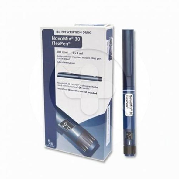 Novomix 30 FlexPen digunakan untuk terapi pada pasien diabetes melitus tipe I.