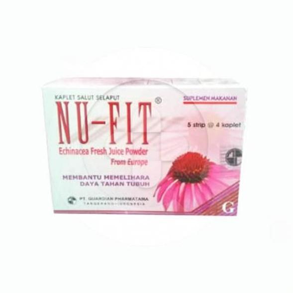 Nu-fit kaplet adalah suplemen untuk membantu memelihara daya tahan tubuh.