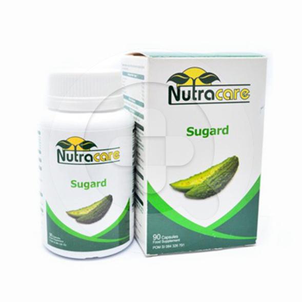 Nutracare Sugard kapsul adalah suplemen untuk pasien diabetes
