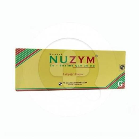 Nuzym kapsul adalah suplemen yang digunakan untuk memelihara kesehatan tubuh.