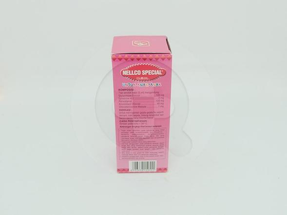 OBH Nellco Special Anak Sirup Rasa Strawberry 55 ml digunakan untuk meringankan gejala flu seperti demam, sakit kepala, hidung tersumbat, bersin-bersin disertai batuk.