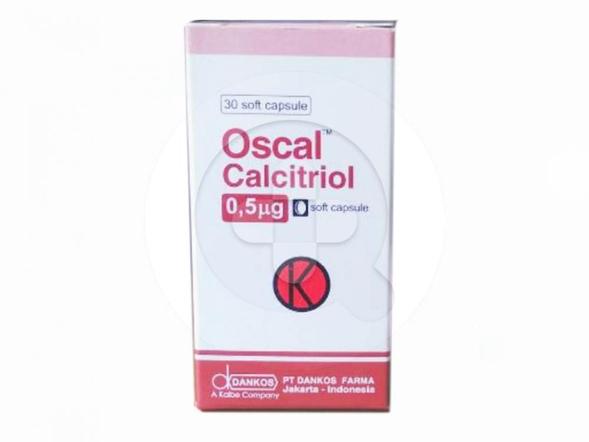 Oscal kapsul digunakan untuk mengatasi osteoporosis dan hiperparatiroidisme.