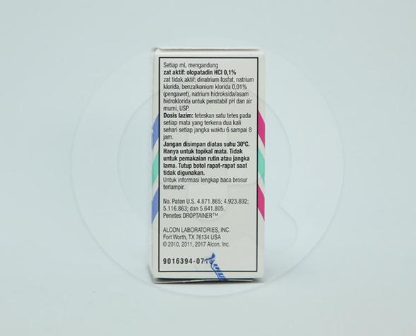 Patanol digunakan untuk pengobatan konjungtivitis alergi