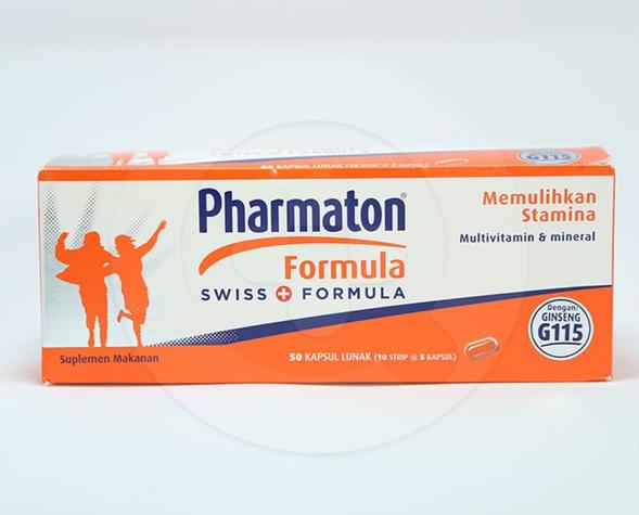Pharmaton Formula dapat membantu menjaga stamina