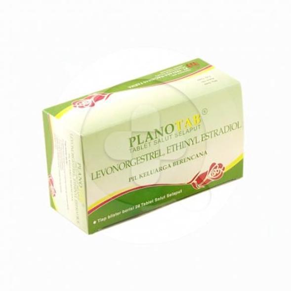 Planotab tablet adalah kontrasepsi oral.