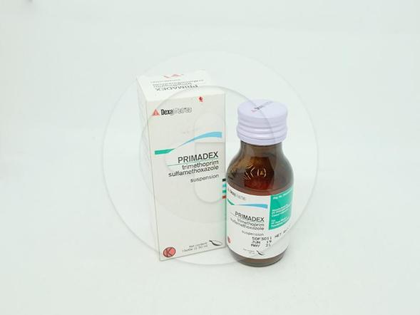 Primadex suspensi 50 ml berguna untuk mengobati infeksi saluran pernfasan ,saluran pencernaan, saluran kemih.