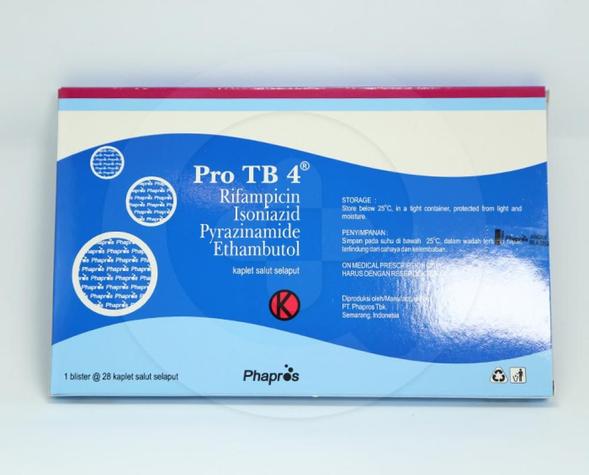 Pro TB 4 adalah obat yang digunakan untuk mengatasi infeksi kuman TBC atau tuberkulosis