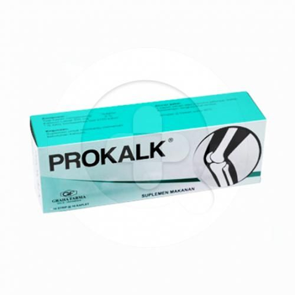 Prokalk kaplet digunakan sebagai suplemen untuk memenuhi kebutuhan kalsium pada ibu hamil dan menyusui.