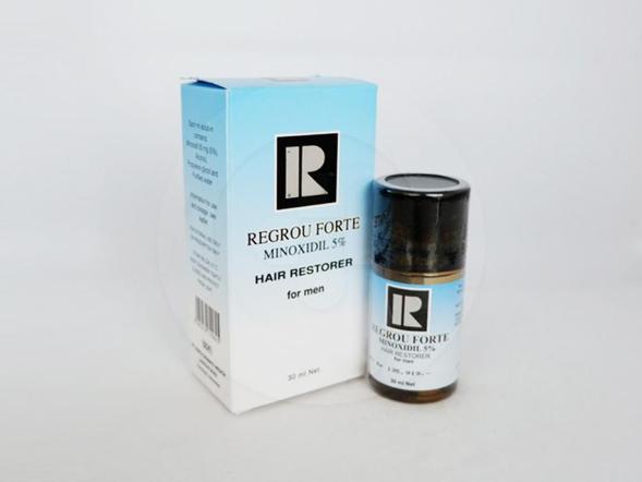 Regrou Forte tetes adalah obat untuk mengatasi kebotakan.