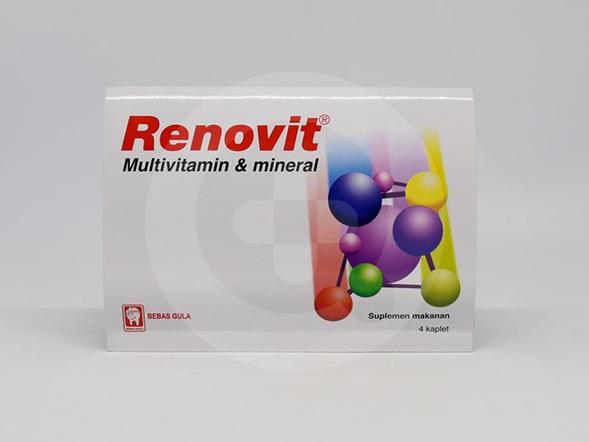 Renovit digunakan untuk membantu memenuhi kebutuhan multivitamin dan mineral