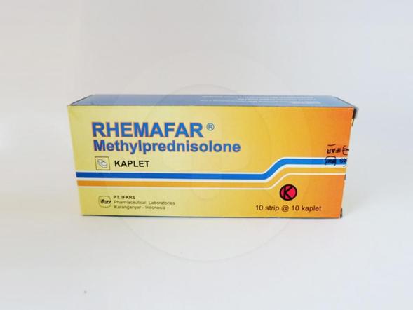 Rhemafar kaplet adalah obat untuk mengatasi reaksi alergi serta peradangan