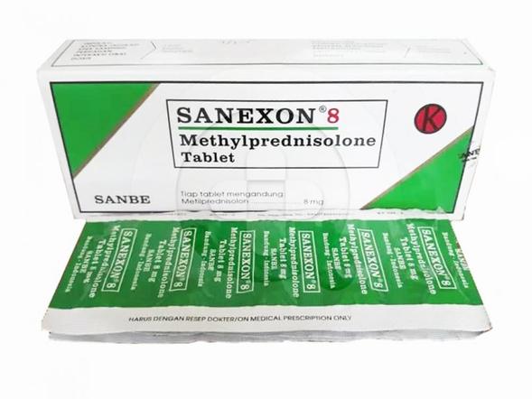 Sanexon tablet digunakan untuk mengobati asma dan peradangan.