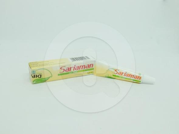 Sariaman gel 5 g berguna untuk membantu meringankan sariawan.