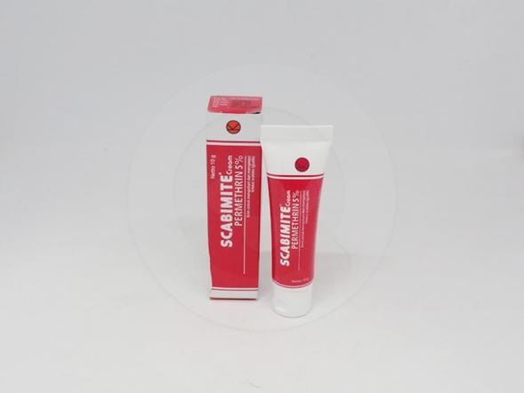Scabimite krim 10 g untuk terapi sarcoptes scabiei