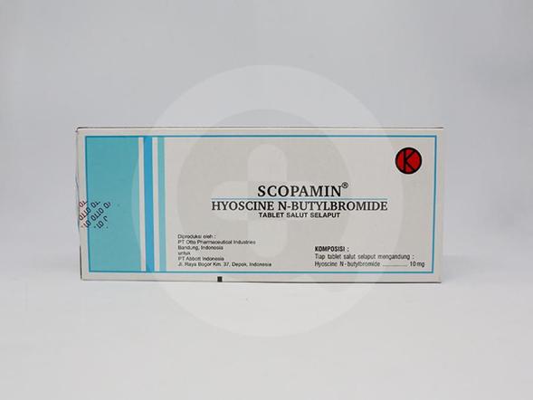 Scopamin dapat meringankan nyeri yang terjadi pada perut dan usus
