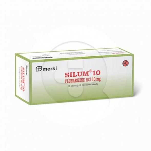 Silum tablet adalah obat untuk mencegah sakit kepala sebelah (migrain).