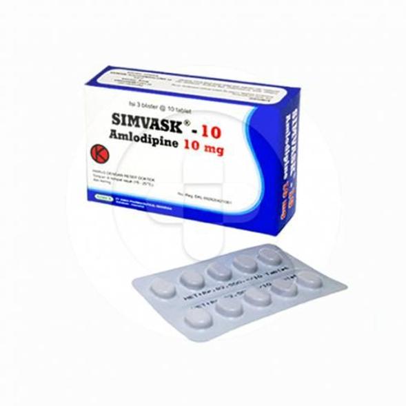 Simvask tablet adalah obat untuk menurunkan tekanan darah tinggi dan risiko serangan jantung.