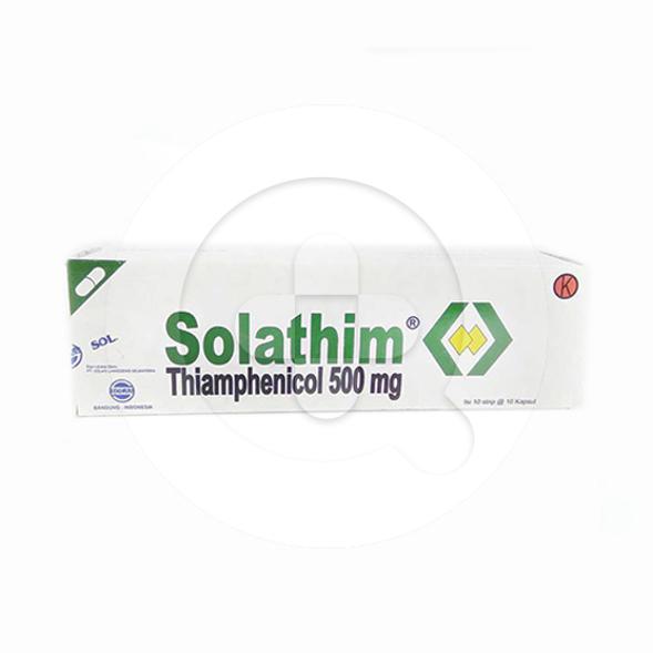 Solathim kapsul adalah obat untuk mengatasi infeksi bakteri.