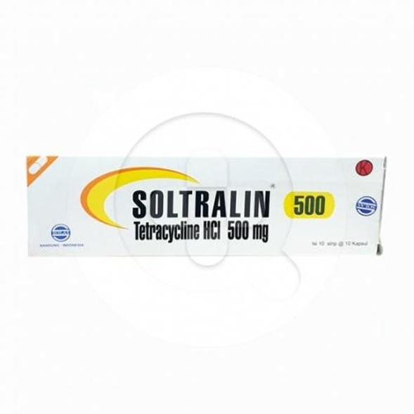 Soltralin kapsul adalah obat untuk mengatasi berbagai infeksi yang disebabkan bakteri.
