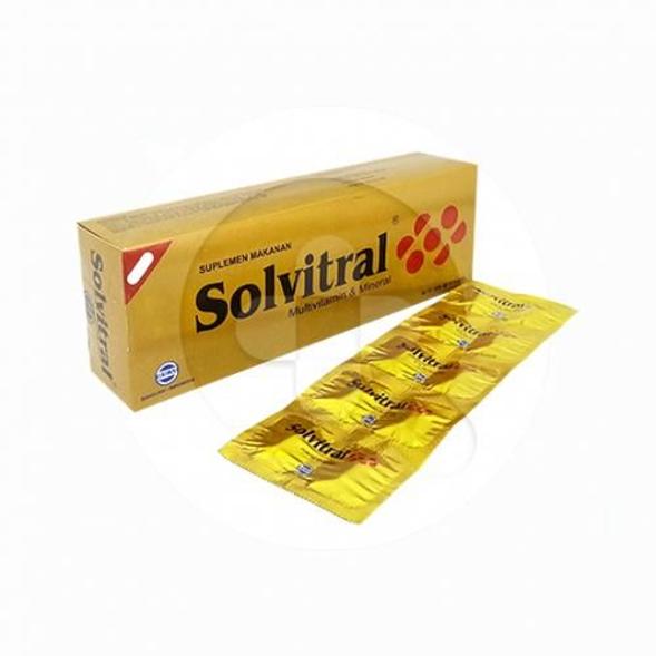 Solvitral kaplet digunakan untuk pengobatan dan pencegahan kekurangan vitamin dan mineral pada wanita hamil dan menyusui.