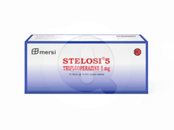 Stelosi tablet adalah obat untuk mengatasi tegang, gelisah, mual, muntah, skizofrenia, dan depresi.