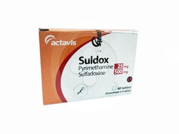 Suldox tablet adalah obat yang digunakan untuk mengobati malaria.