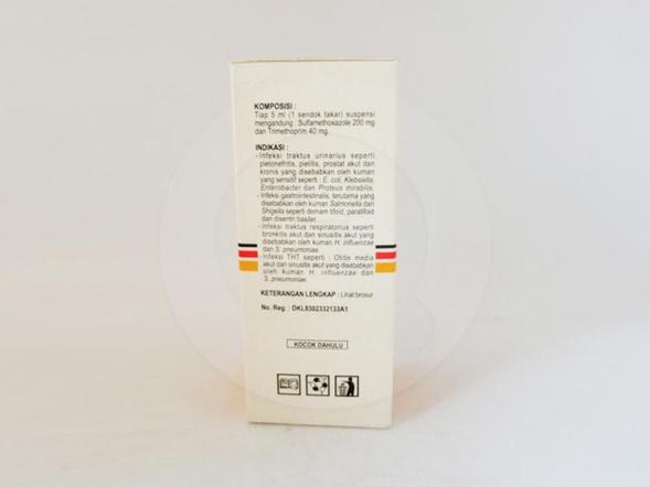 Sultrimmix suspensi 60 ml untuk mengatasi berbagai macam infeksi bakteri.