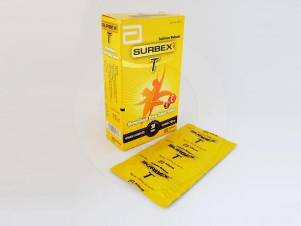 Surbex T tablet adalah suplemen untuk memenuhi kebutuhan vitamin B dan vitamin C.