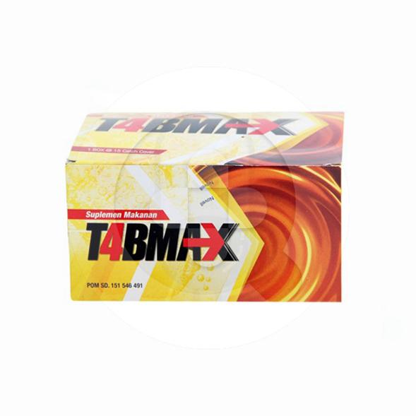 T4bmax tablet adalah suplemen untuk membantu memelihara kebugaran tubuh