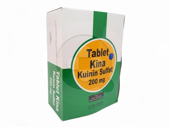 Tablet Kina adalah obat untuk mencegah dan mengobati demam malaria.