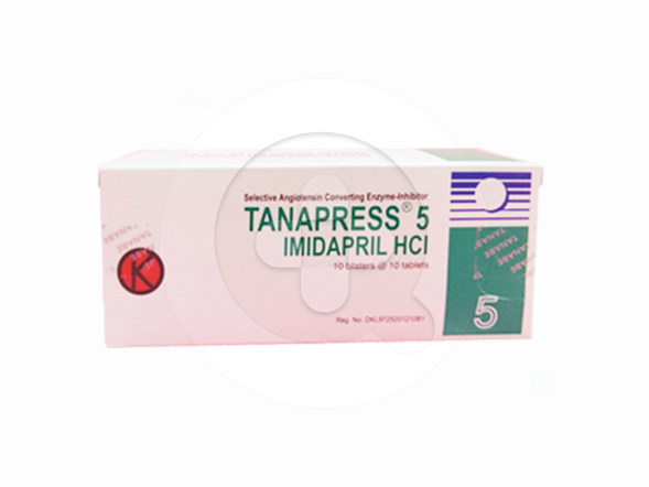 Tanapres tablet adalah obat untuk mengatasi tekanan darah tinggi (hipertensi).
