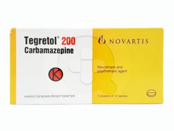 Tegretol tablet digunakan untuk mengatasi epilepsi, gangguan bipolar, dan nyeri saraf akibat diabetes.