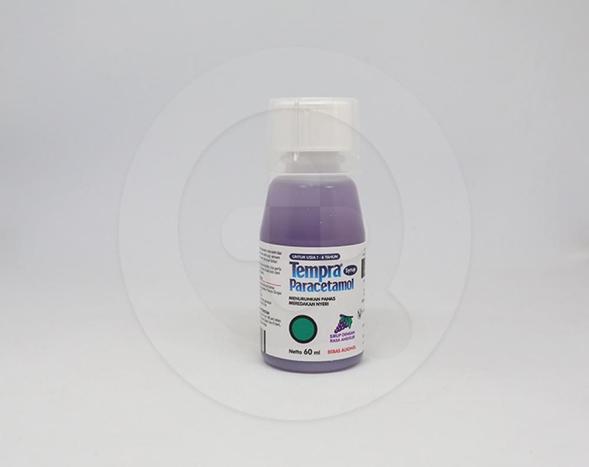 Tempra adalah obat untuk meredakan demam, rasa sakit dan nyeri ringan, sakit kepala dan gigi, dan demam