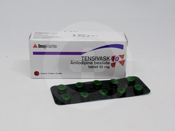Tensivask tablet adalah obat untuk hipertensi, dapat mengatur tekanan darah, dan mengatur kinerja otot-otot jantung